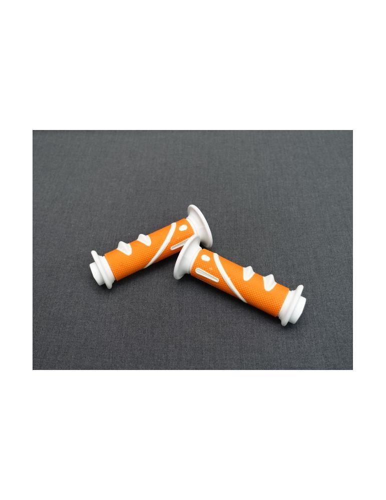 Griffe Moto Cross 922X cool orange/weiss